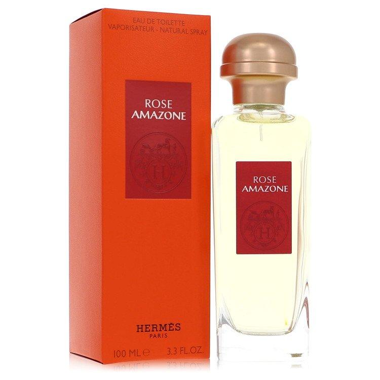 Rose Amazone by Hermes –  Eau De Toilette Spray 3.3 oz 100 ml for Women