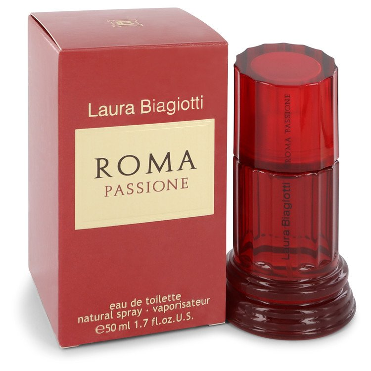 Roma Passione by Laura Biagiotti –  Eau De Toilette Spray 1.7 oz 50 ml for Women