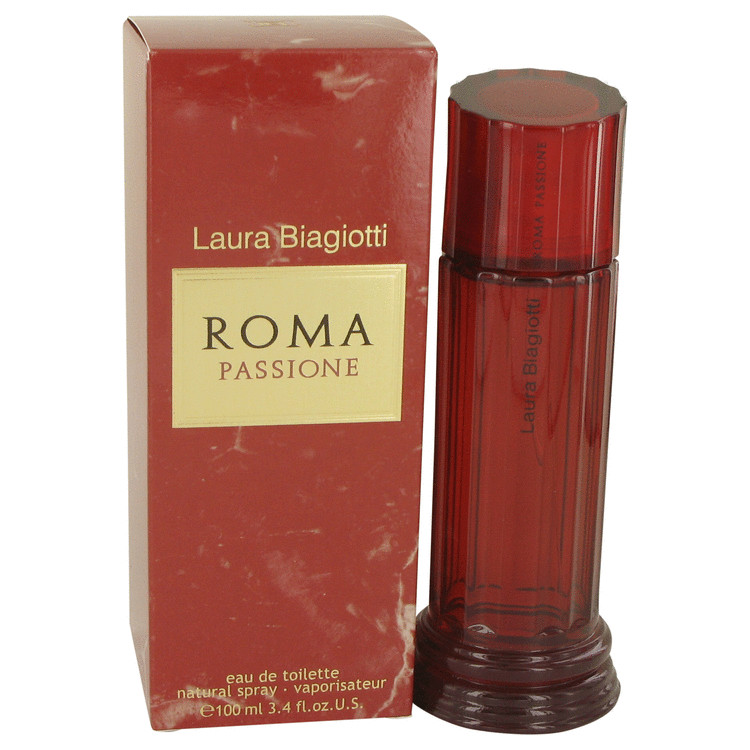 Roma Passione Perfume by Laura Biagiotti 3.4 oz EDT Spay for Women