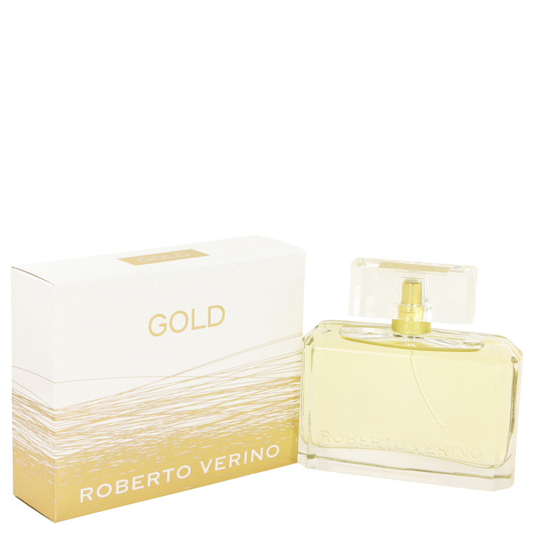 Roberto Verino Gold by Roberto Verino for Women Eau De Parfum Spray 3 oz