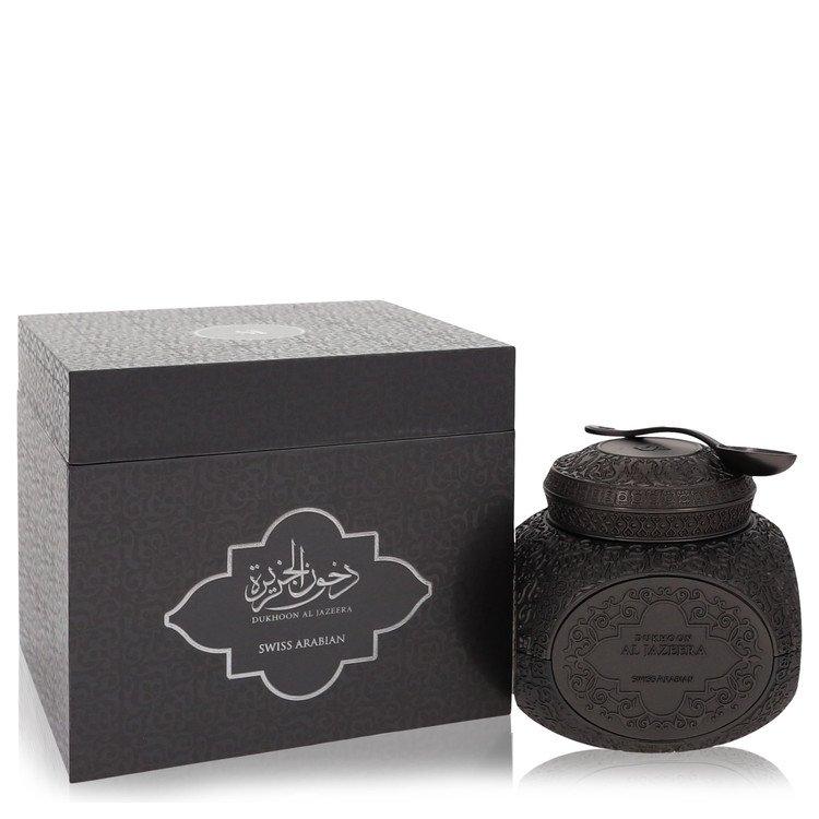 Swiss Arabian Dukhoon Al Jazeera Bakhoor by Swiss Arabian –  Bakhoor Incense (Unisex) 70 grams 70 grams