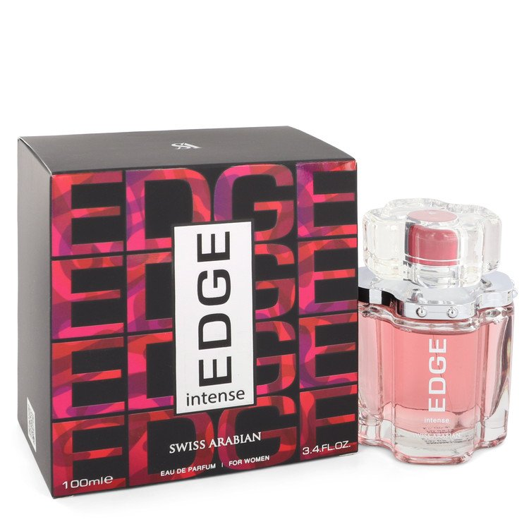 Edge Intense by Swiss Arabian Women's Eau De Parfum Spray 3.4 oz