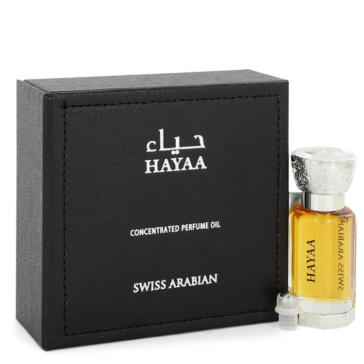 Swiss Arabian Hayaa by Swiss Arabian –  Concentrated Perfume Oil (Unisex) 0.4 oz 12 ml