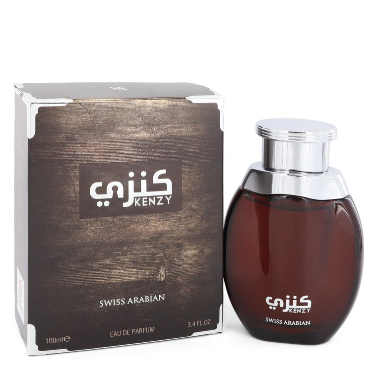 Kenzy by Swiss Arabian Men's Eau De Parfum Spray (Unisex) 3.4 oz