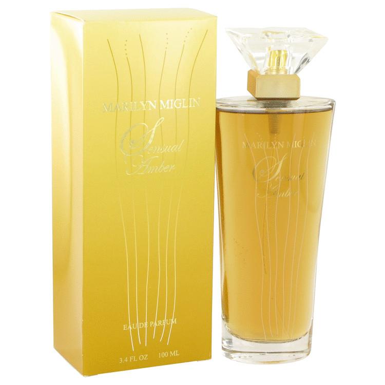 Sensual Amber by Marilyn Miglin for Women Eau De Parfum Spray 3.4 oz