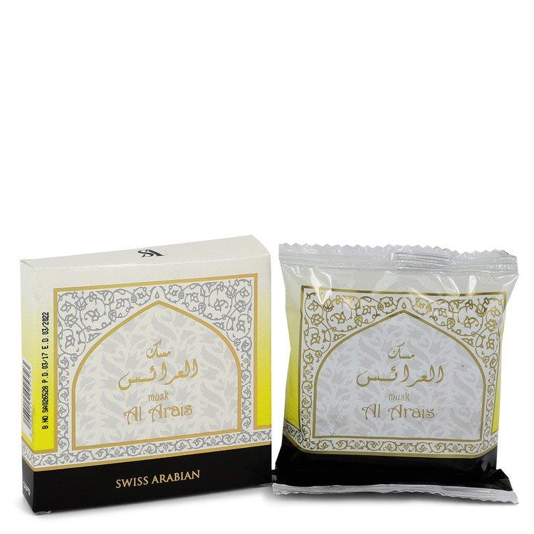 Swiss Arabian Musk Al Arais by Swiss Arabian Men's Bakhoor Incense (Unisex) 40 grams