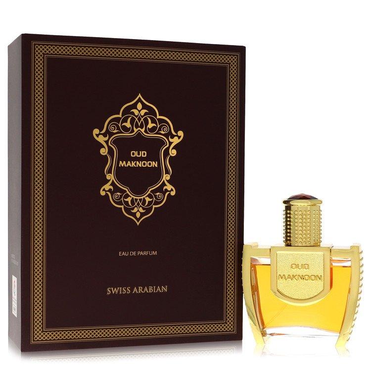 Oud Maknoon by Swiss Arabian Eau De Parfum Spray (Unisex) 3.4 oz for Women