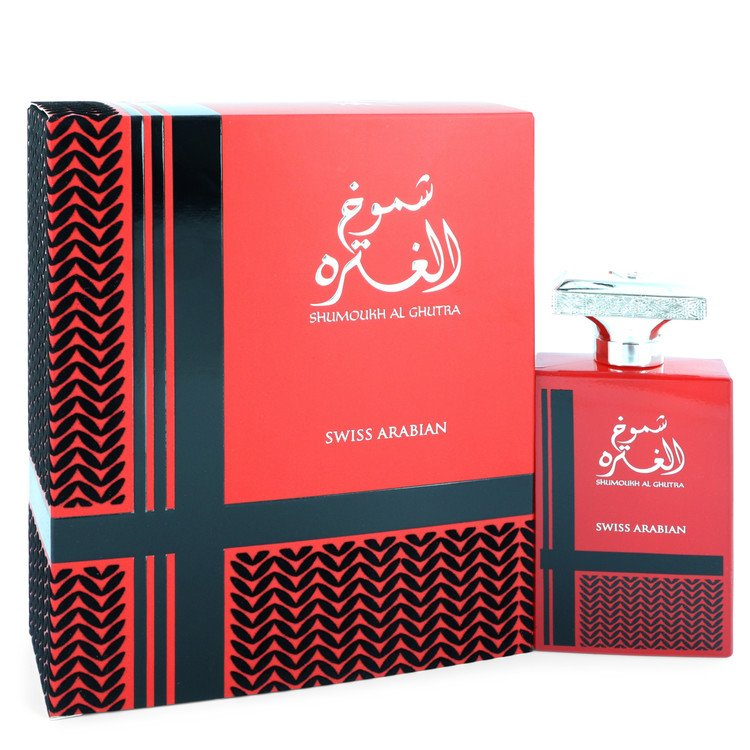 Shumoukh Al Ghutra by Swiss Arabian Men's Eau De Parfum Spray 3.4 oz