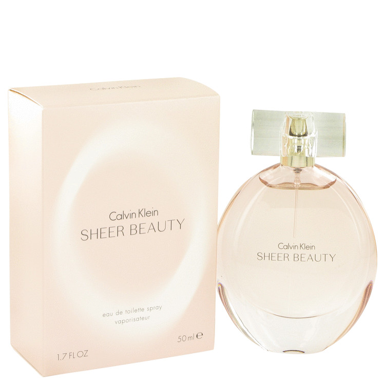 Sheer Beauty by Calvin Klein Eau De Toilette Spray 1.7 oz