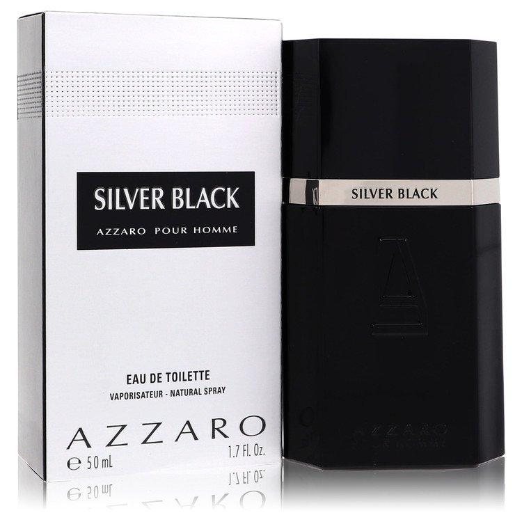 Silver Black by Azzaro for Men Eau De Toilette Spray 1.7 oz