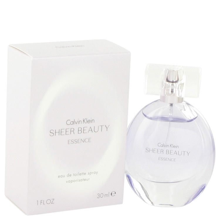 Sheer Beauty Essence by Calvin Klein Eau De Toilette Spray 1 oz