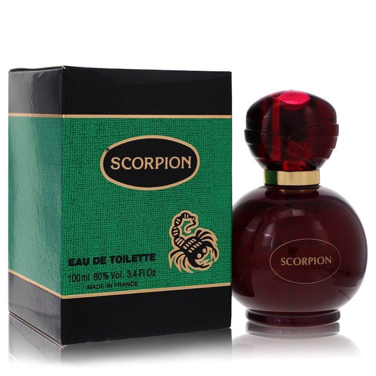 Scorpion by Parfums JM for Men Eau De Toilette Spray 3.4 oz