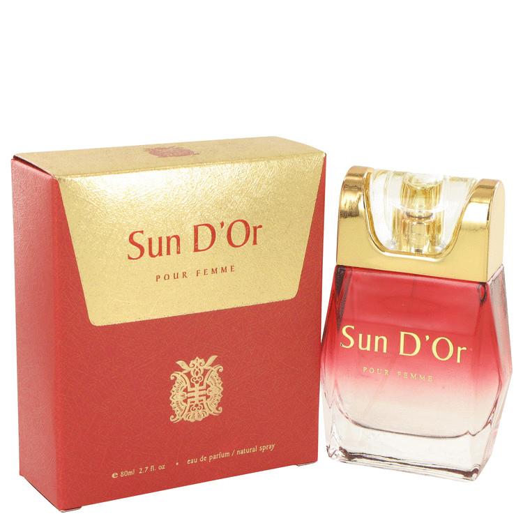 Sun D'or by YZY Perfume for Women Eau De Parfum Spray 2.7 oz