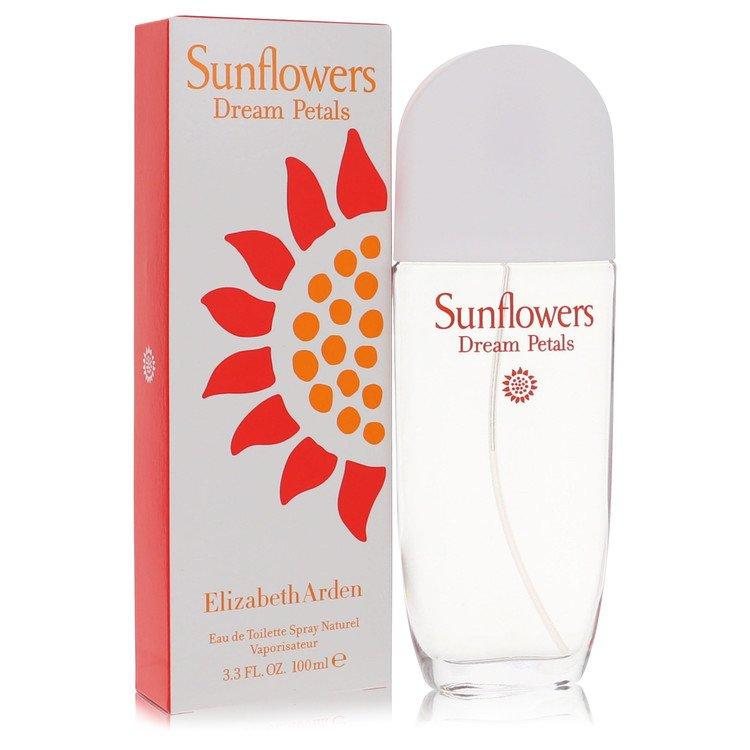 Sunflowers Dream Petals by Elizabeth Arden for Women Eau De Toilette Spray 3.3 oz