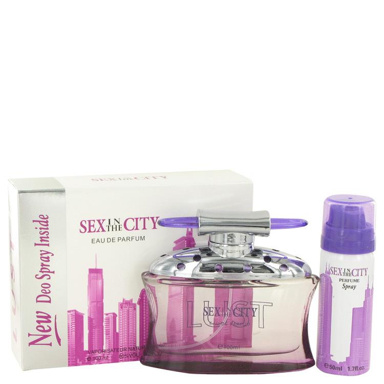 Sex In The City Lust by Unknown Women's Eau De Parfum Spray + Free 1.7 oz Deodorant Spray 3.4 oz