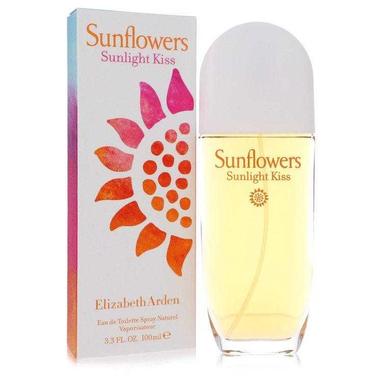 Sunflowers Sunlight Kiss by Elizabeth Arden for Women Eau De Toilette Spray 3.4 oz