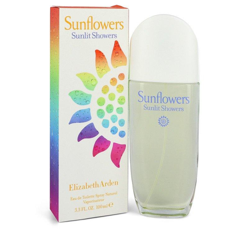 Sunflowers Sunlit Showers by Elizabeth Arden Eau De Toilette Spray 3.3 oz