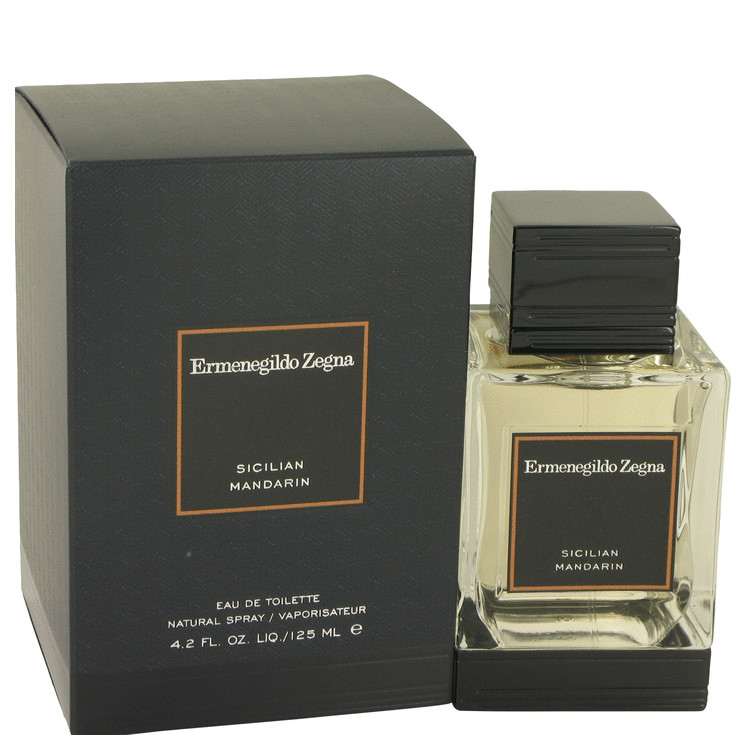 Sicilian Mandarin Cologne by Ermenegildo Zegna 4.2 oz EDT Spay for Men
