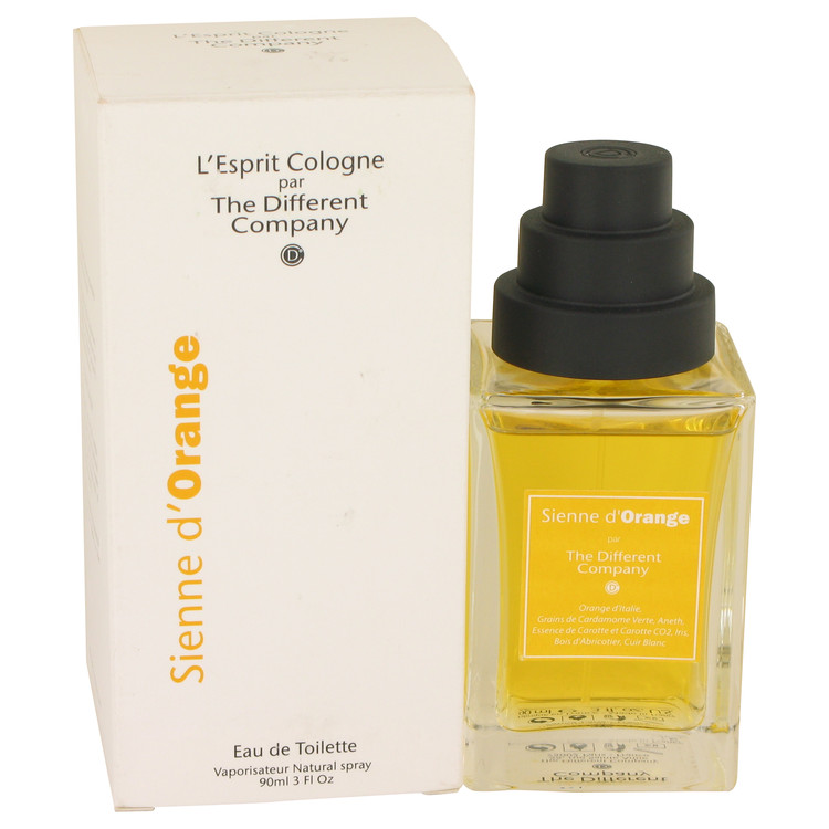 Sienne D'Orange by The Different Company for Women Eau De Toilette Spray (Unisex) 3 oz