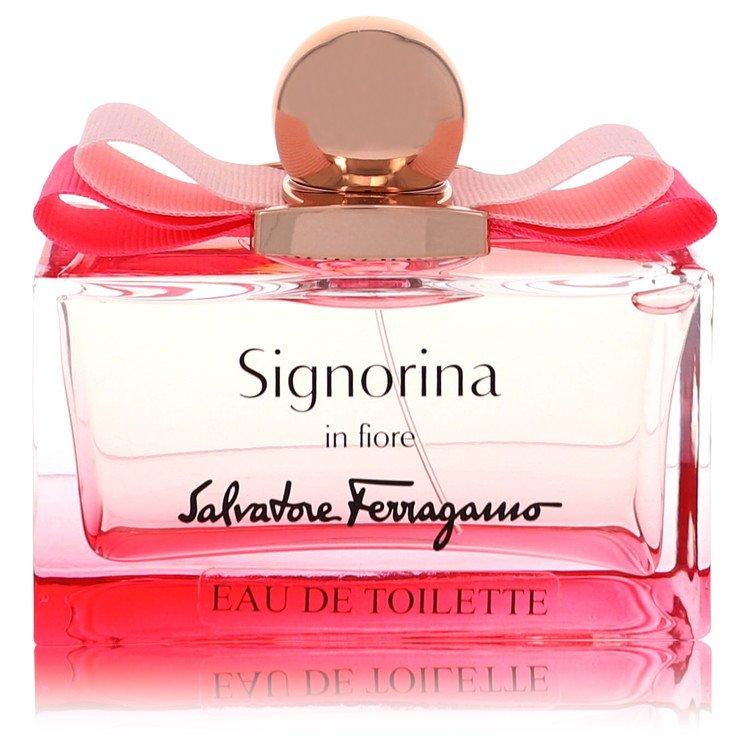 Signorina In Fiore by Salvatore Ferragamo for Women Eau De Toilette Spray (Tester) 3.4 oz
