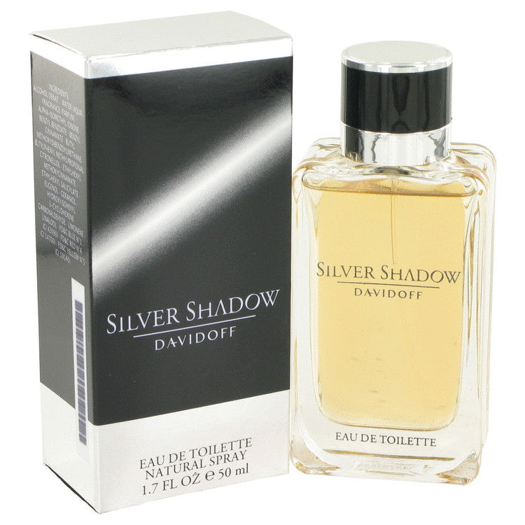 Silver Shadow Cologne by Davidoff 1.7 oz EDT Spray for Men