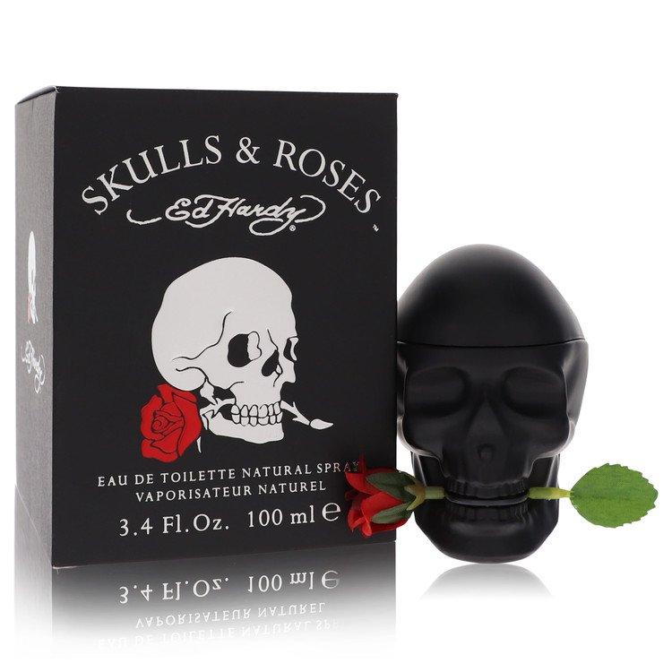 Skulls & Roses by Christian Audigier Men's Eau De Toilette Spray 3.4 oz