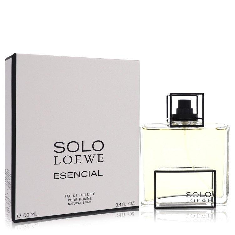 Solo Loewe Esencial by Loewe for Men Eau De Toilette Spray 3.4 oz