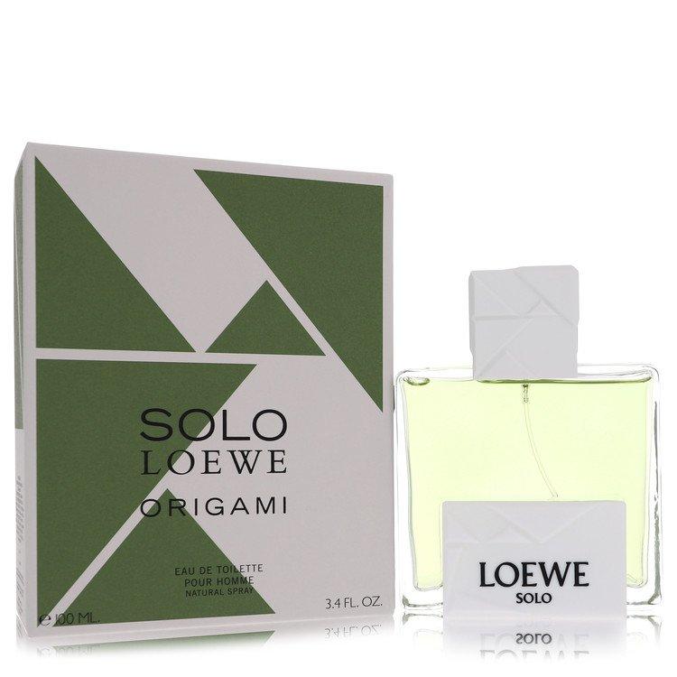 Solo Loewe Origami by Loewe for Men Eau De Toilette Spray 3.4 oz