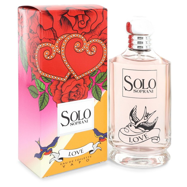 Solo Love by LUCIANO SOPRANI –  Eau De Toilette Spray 3.4 oz 100 ml for Women