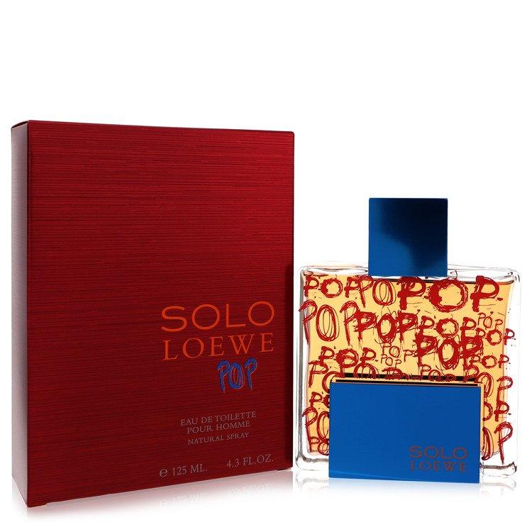 Solo Loewe Pop by Loewe for Men Eau De Toilette Spray 4.3 oz