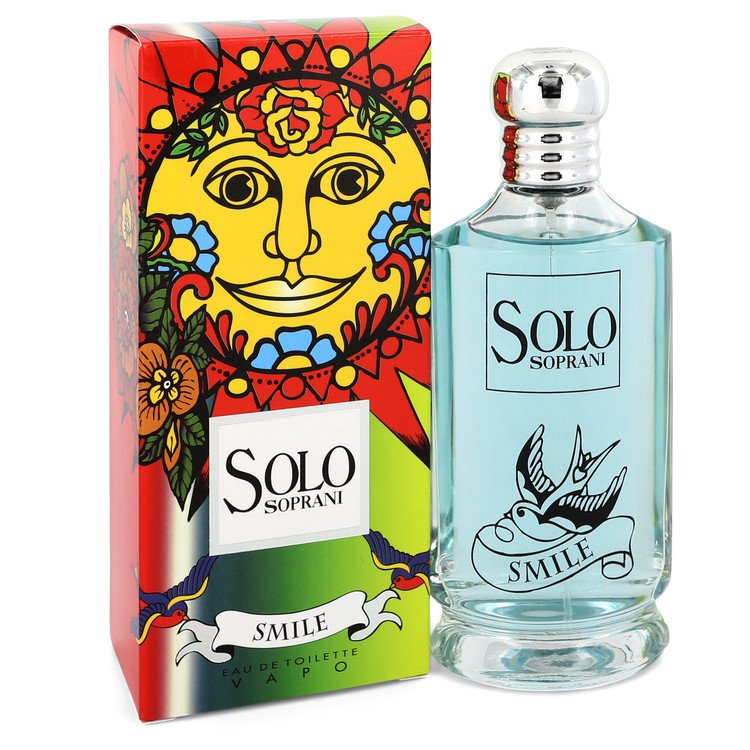 Solo Smile by Luciano Soprani –  Eau De Toilette Spray 3.4 oz 100 ml for Women