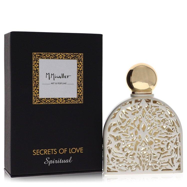 Secrets of Love Spiritual by M. Micallef –  Eau De Parfum Spray 2.5 oz 75 ml for Women