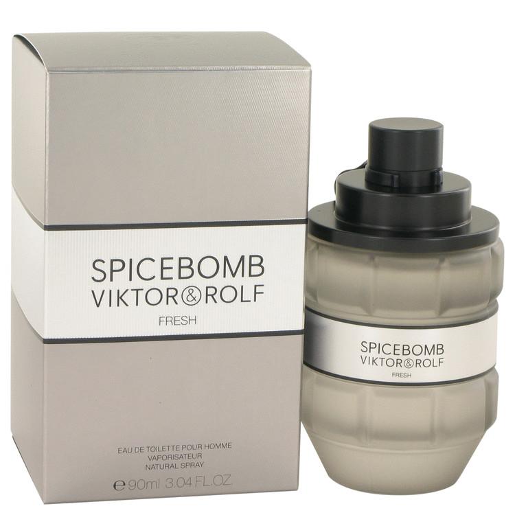 Spicebomb Fresh by Victor & Rolf for Men Eau De Toilette Spray 3 oz