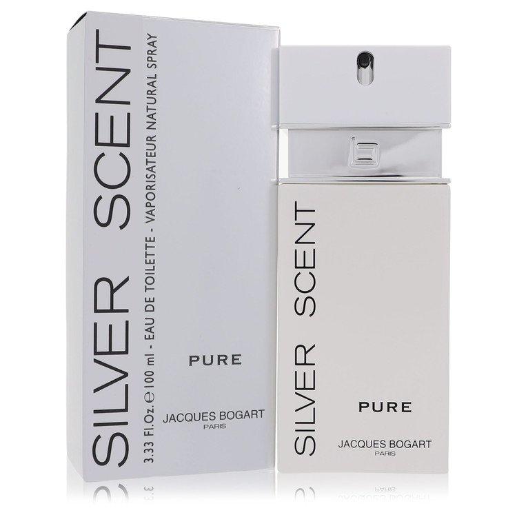 Silver Scent Pure by Jacques Bogart for Men Eau De Toilette Spray 3.4 oz