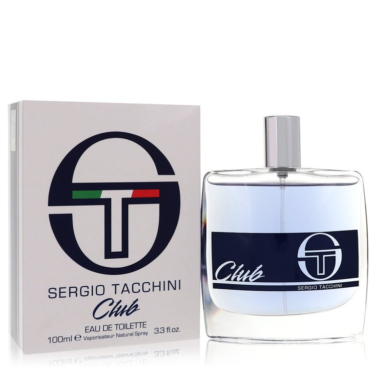 Sergio Tacchini Club by Sergio Tacchini for Men Eau DE Toilette Spray 3.4 oz