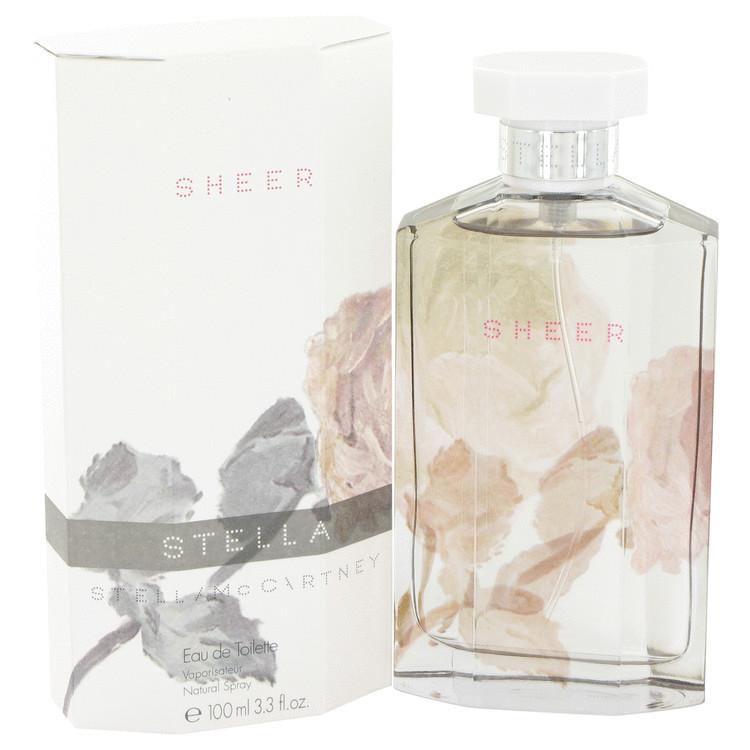 Stella Sheer Perfume by Stella Mccartney 3.3 oz EDT Spay for Women