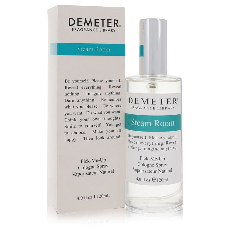 Demeter Steam Room by Demeter –  Cologne Spray 4 oz 120 ml for Women
