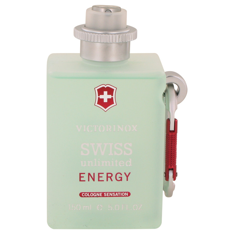 Swiss Unlimited Energy by Victorinox for Men Cologne Spray (Tester) 5 oz