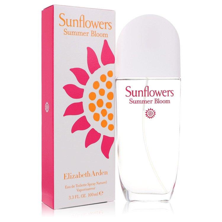 Sunflowers Summer Bloom by Elizabeth Arden for Women Eau De Toilette Spray 3.3 oz