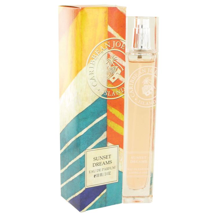 Sunset Dreams by Caribbean Joe for Women Eau De Parfum Spray 3.4 oz