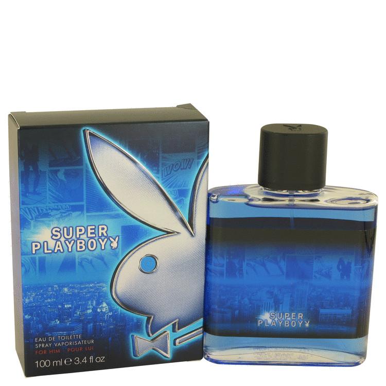 Super Playboy by Coty for Men Eau DE Toilette Spray 3.4 oz
