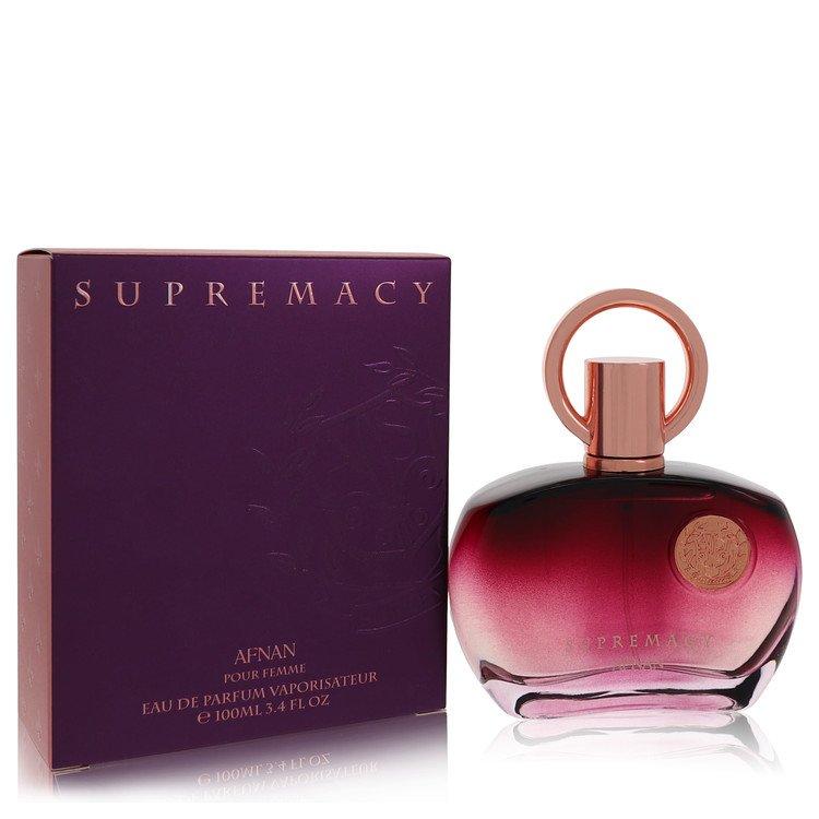 Supremacy Pour Femme by Afnan for Women Eau De Parfum Spray 3.4 oz