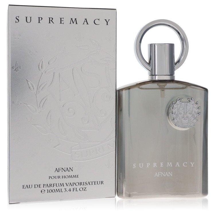 Supremacy Silver by Afnan –  Eau De Parfum Spray 3.4 oz 100 ml for Men