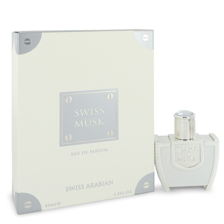 Swiss Musk by Swiss Arabian Men's Eau De Parfum Spray (Unisex) 1.5 oz
