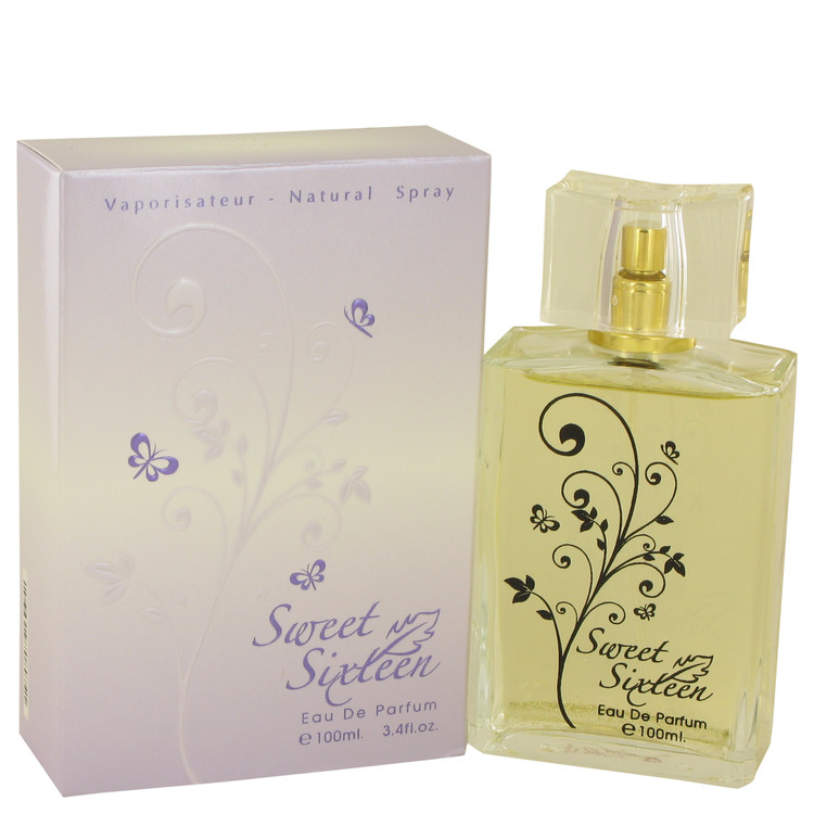 Sweet Sixteen Aroma Fragrance by Aroma Fragrance for Women Eau De Parfum Spray 3.4 oz