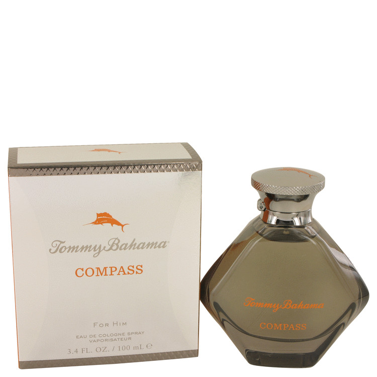 Tommy Bahama Compass by Tommy Bahama Eau De Cologne Spray 3.4 oz for Men