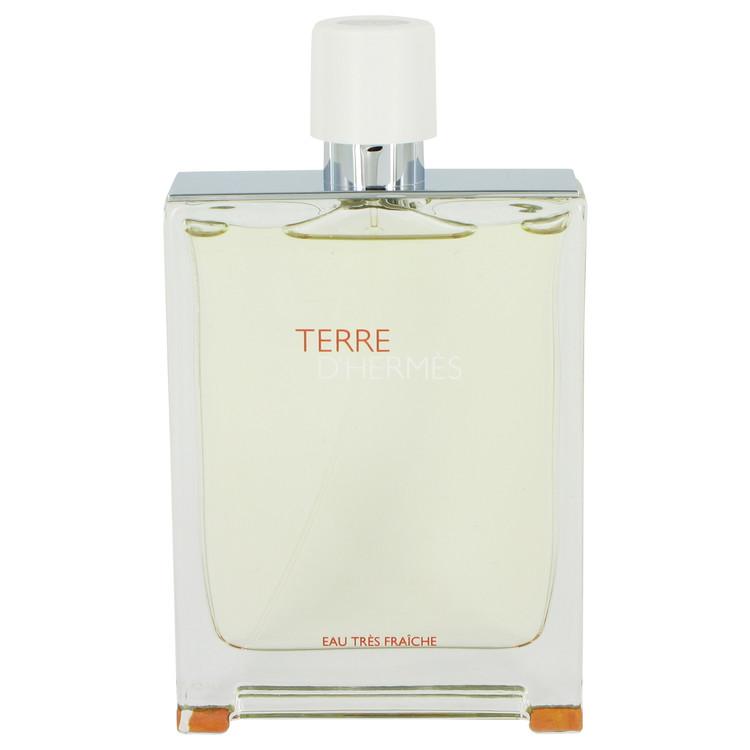 Terre D'Hermes by Hermes for Men Eau Tres Fraiche Eau De Toilette Spray (Tester) 4.2 oz