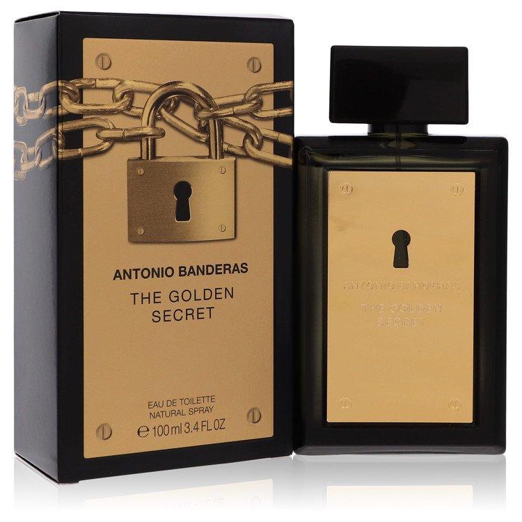 The Golden Secret Cologne by Antonio Banderas 3.4 oz EDT Spay for Men