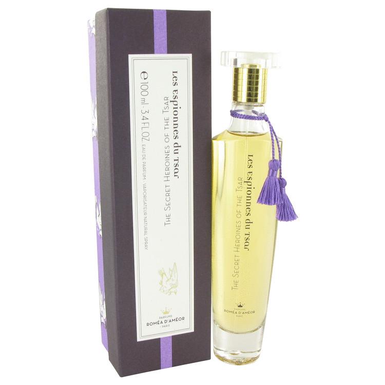 The Secret Heroines of the Tsar by Romea D'Ameor for Women Eau De Parfum Spray 3.4 oz