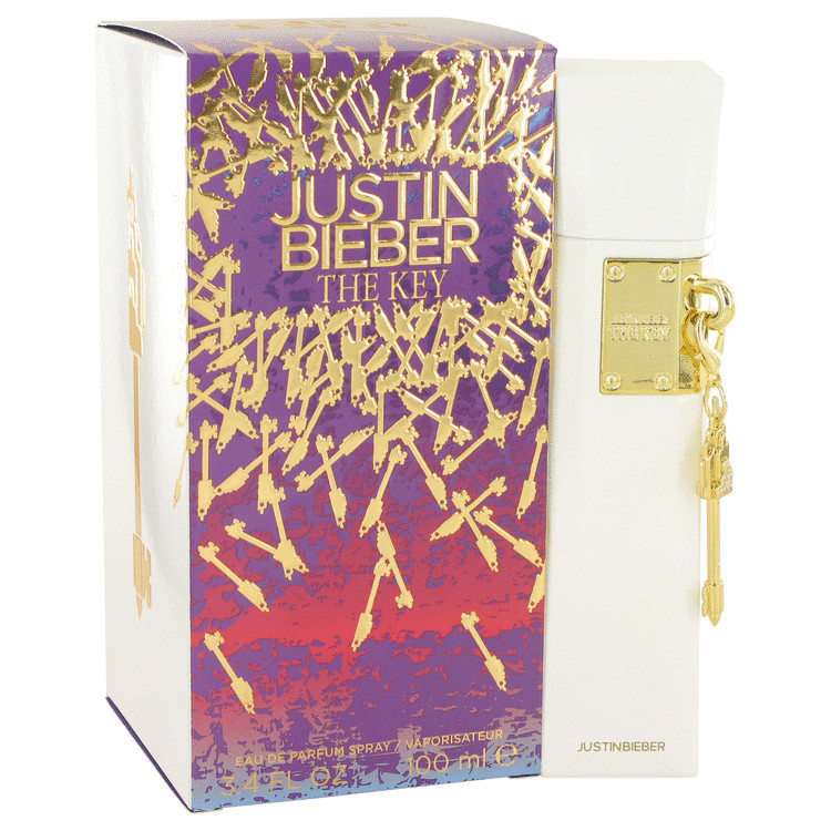 The Key by Justin Bieber for Women Eau De Parfum Spray 3.4 oz